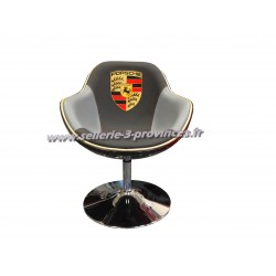 Fauteuil Porsche (gris et noir)