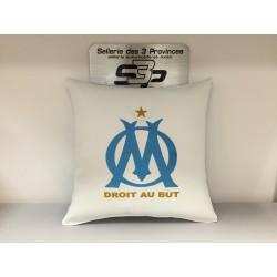 Coussin Olympique de Marseille + prénom