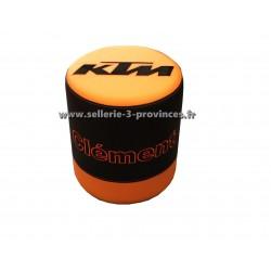 Pouf KTM + prénom