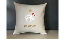 Coussin Equipe de France + prénom